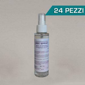 Confezione 24 pezzi Pec Spray igienizzante mani 100ml