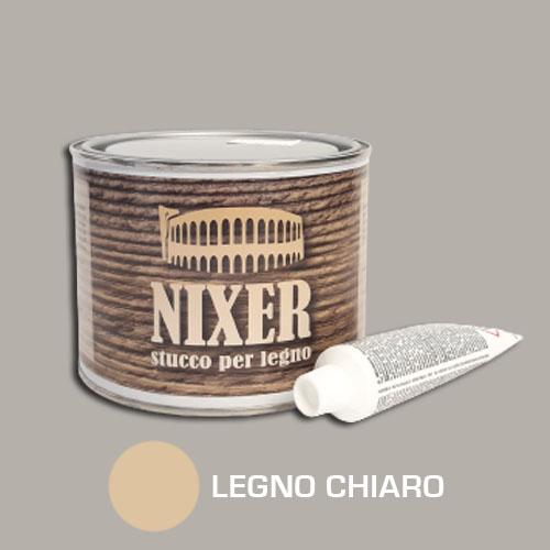 Stucco per legno chiaro con catalizzatore Nixer 500gr