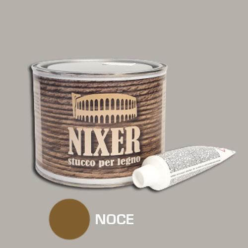 Stucco per legno noce con catalizzatore Nixer 500gr