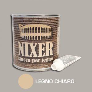 Stucco per legno chiaro con catalizzatore Nixer 750gr