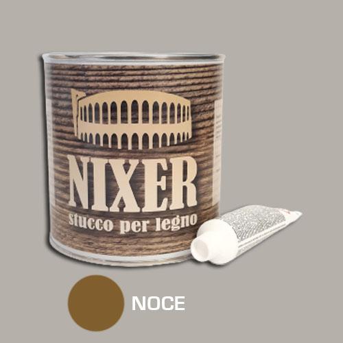 Stucco per legno noce con catalizzatore Nixer 750gr